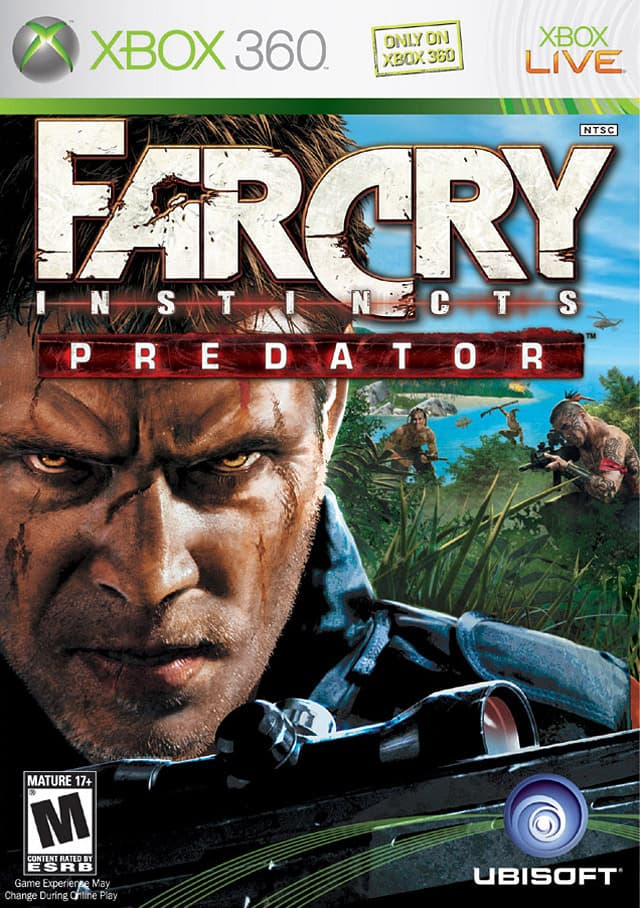 Jaquette Far Cry Instincts Predator
