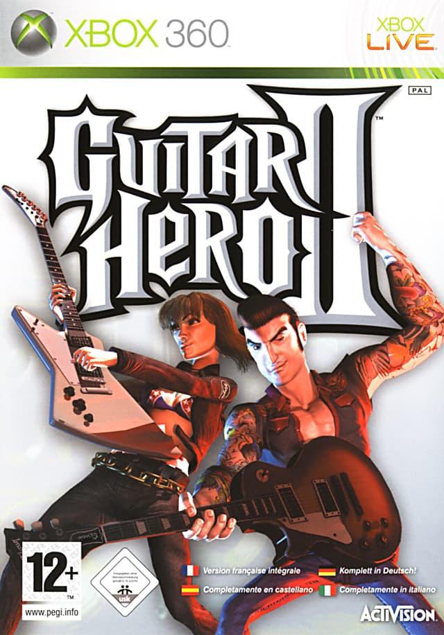 Jaquette Guitar Hero II