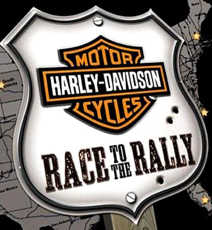 Jaquette Harley-Davidson: Race to the Rally