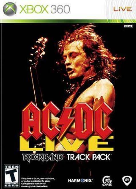 Jaquette Rock Band: AC/DC Live
