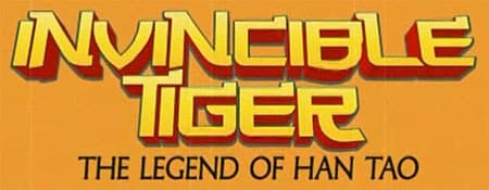 Jaquette Invincible Tiger : The Legend of Han Tao