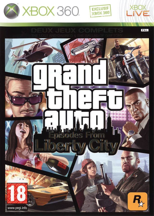 Jaquette Grand Theft Auto : Episodes from Liberty City