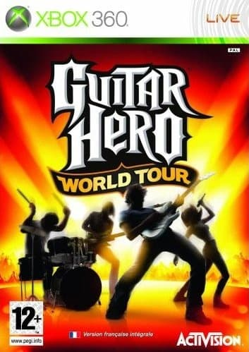 Jaquette Guitar Hero : World Tour