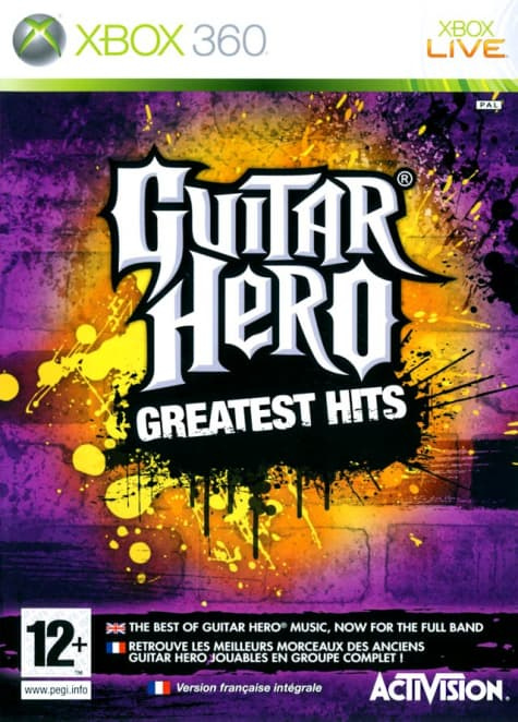 Jaquette Guitar Hero : Greatest Hits