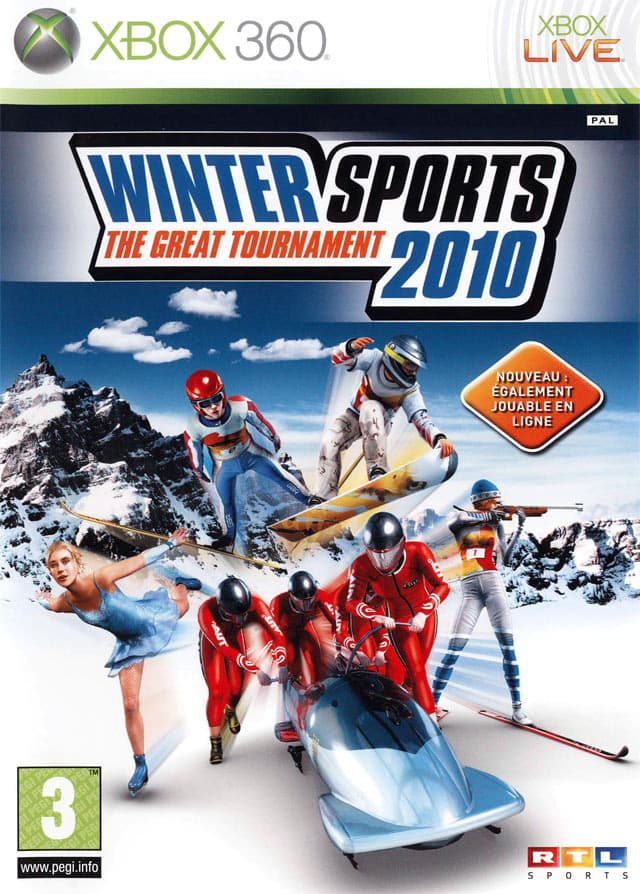 Jaquette Winter Sports 2010: The Great Tournament
