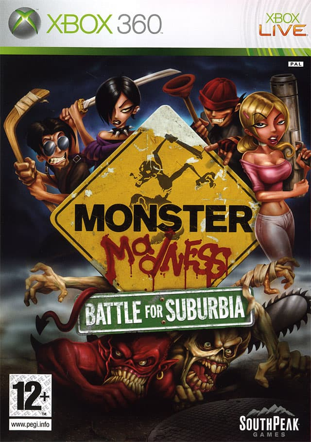 Jaquette Monster Madness : Battle for Suburbia