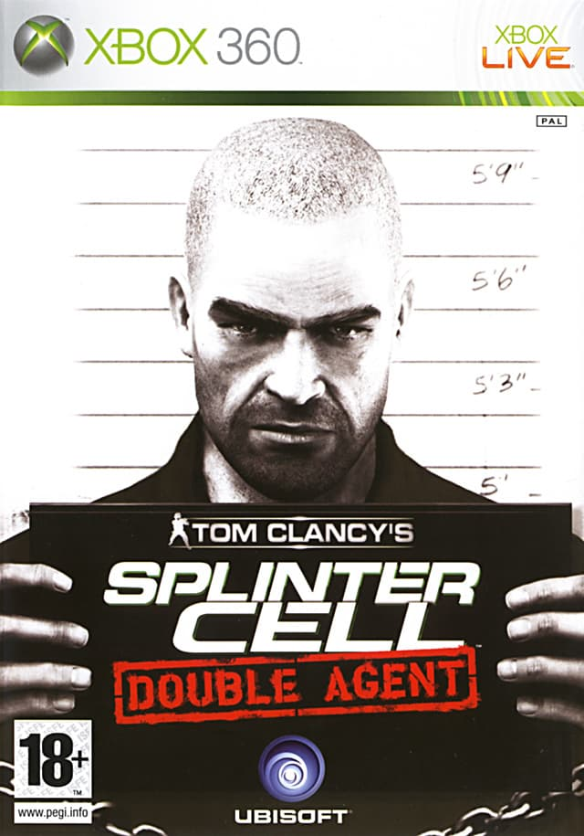 Jaquette Splinter Cell Double Agent