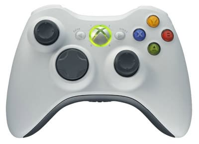 Manette Xbox 360 blanche