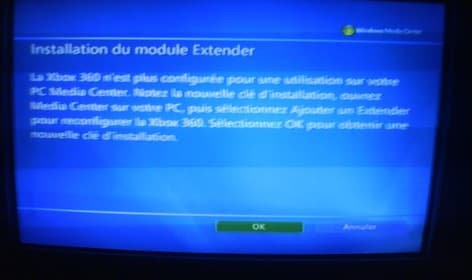 Tuto Xbox 360 : Windows Media Center et MCE Browser