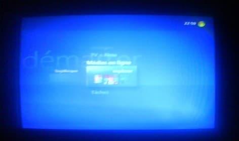 XBox 360 et MCE Browser
