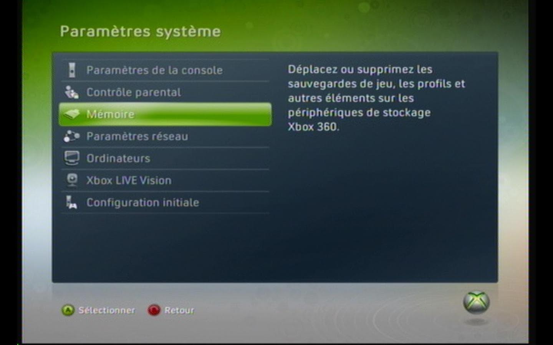 Vider le cache mémoire de sa Xbox 360
