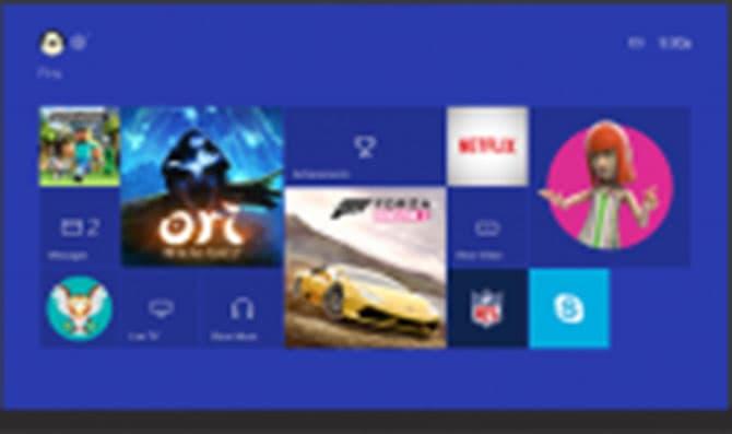 Xbox One: vers un changement de l'interface en 2015!