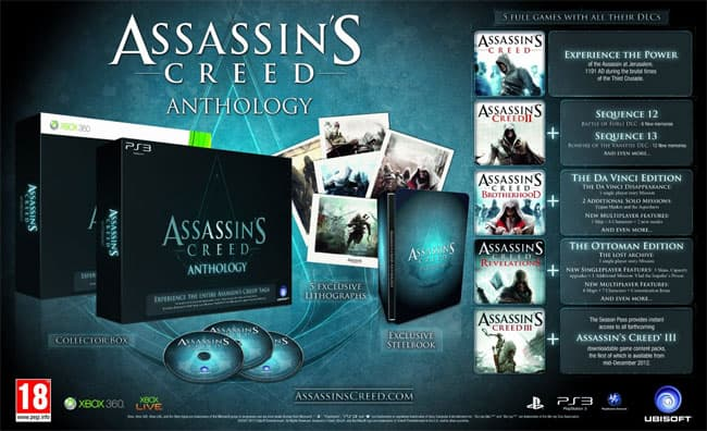 Bande annonce pour Assassin'S Creed Anthology
