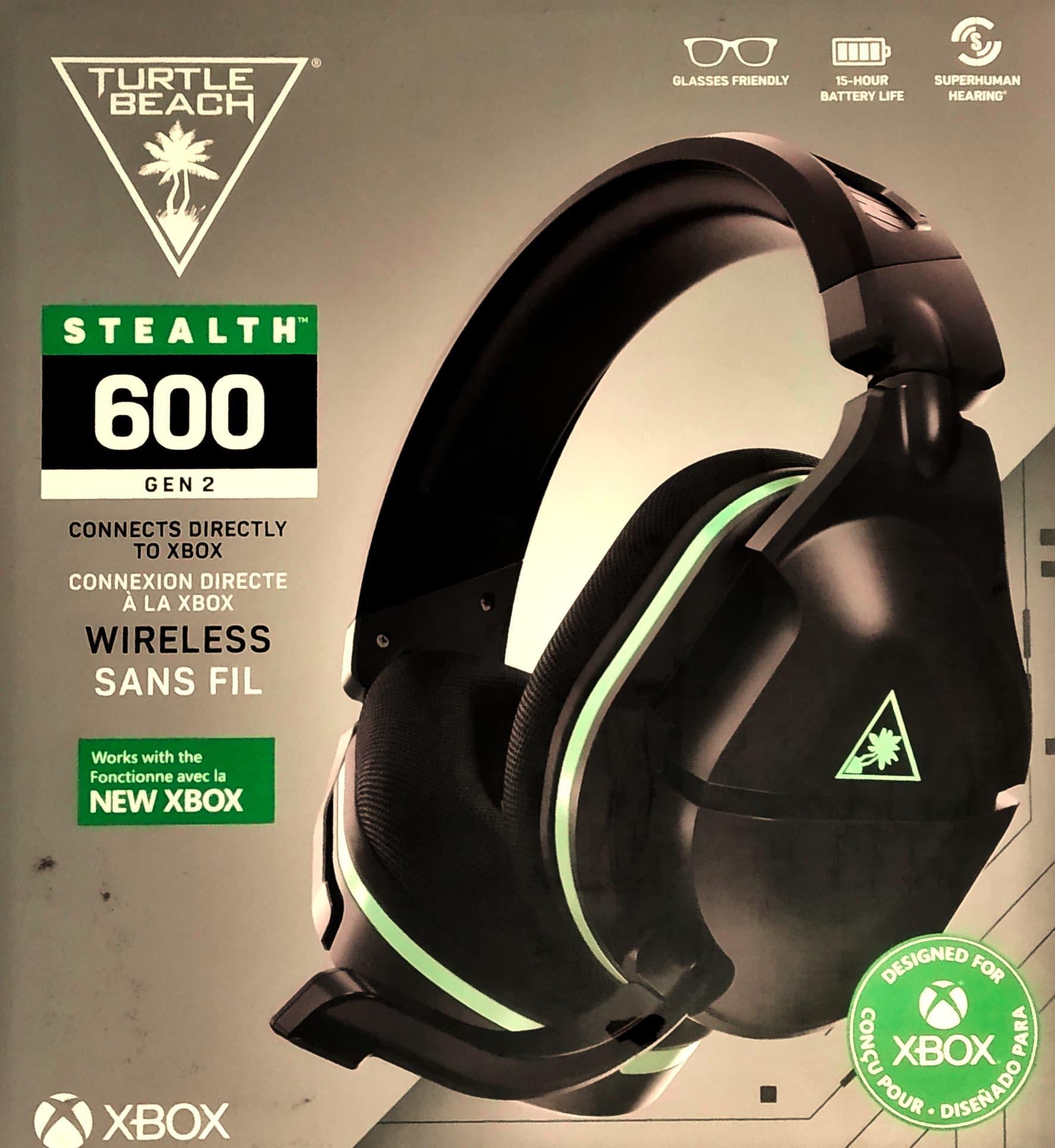 Casque sans fil pour Xbox Series Turtle Beach Stealth 600 Gen 2: Avis de gamer 2021