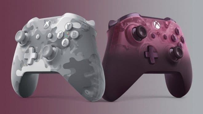 Microsoft dévoile deux nouvelles manettes pour la Xbox One