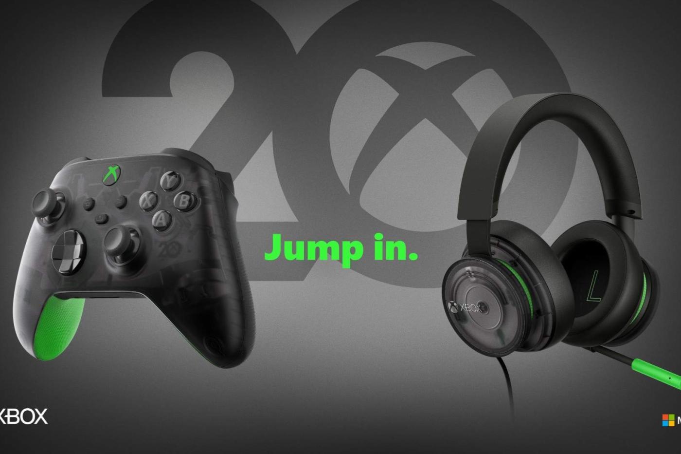 Xbox fête ses 20 ans avec des accessoires inedits!
