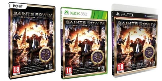L'edition Game of century de Saint Row IV annoncé