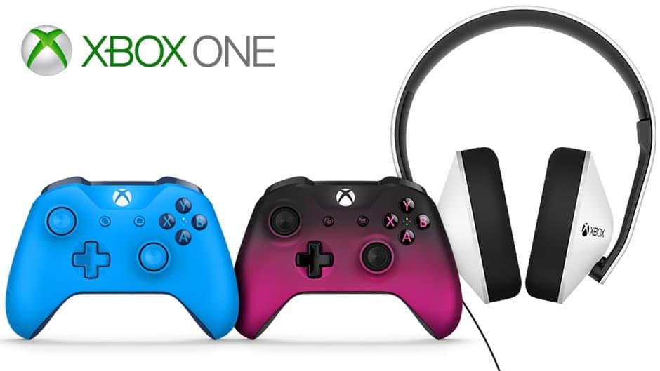 Xbox One: des coloris inédits pour la manette et un nouveau casque