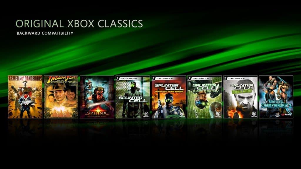 23 nouveaux jeux rétrocompatibles sur Xbox One!