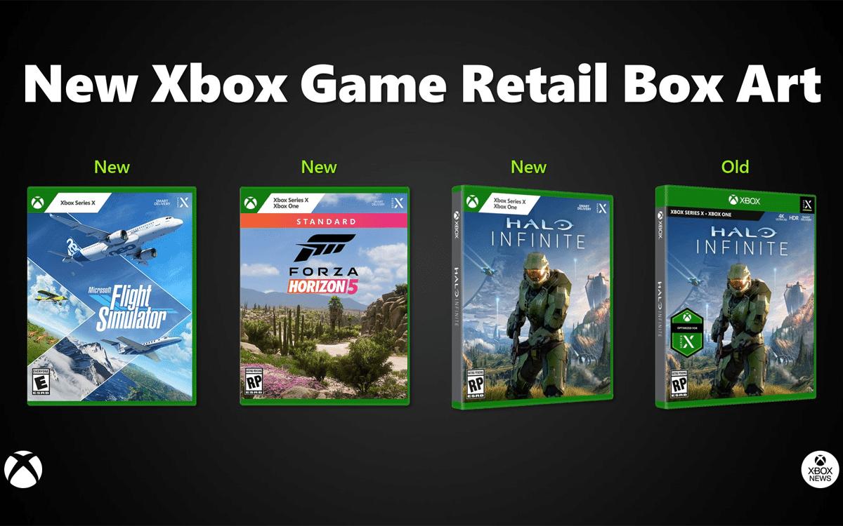 E3 2021: Xbox dévoile le design de ses nouvelles jaquettes