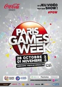 Paris Games Week 2015:l'affiche officielle dévoilée et plus d'infos sur le festival
