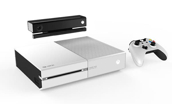 Xbox one: Edition blanche