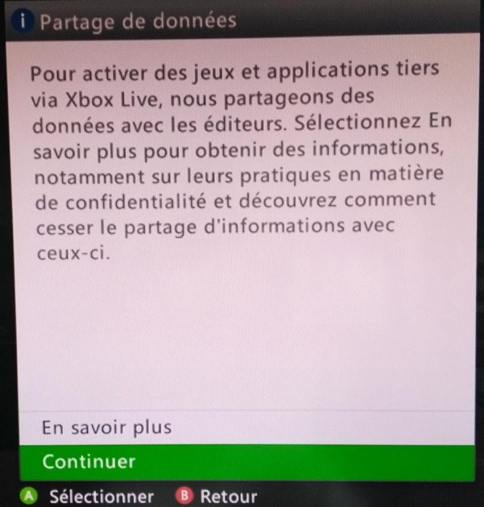 La Xbox 360 reçoit sa première mise à jour en lÂ'espace de deux ans