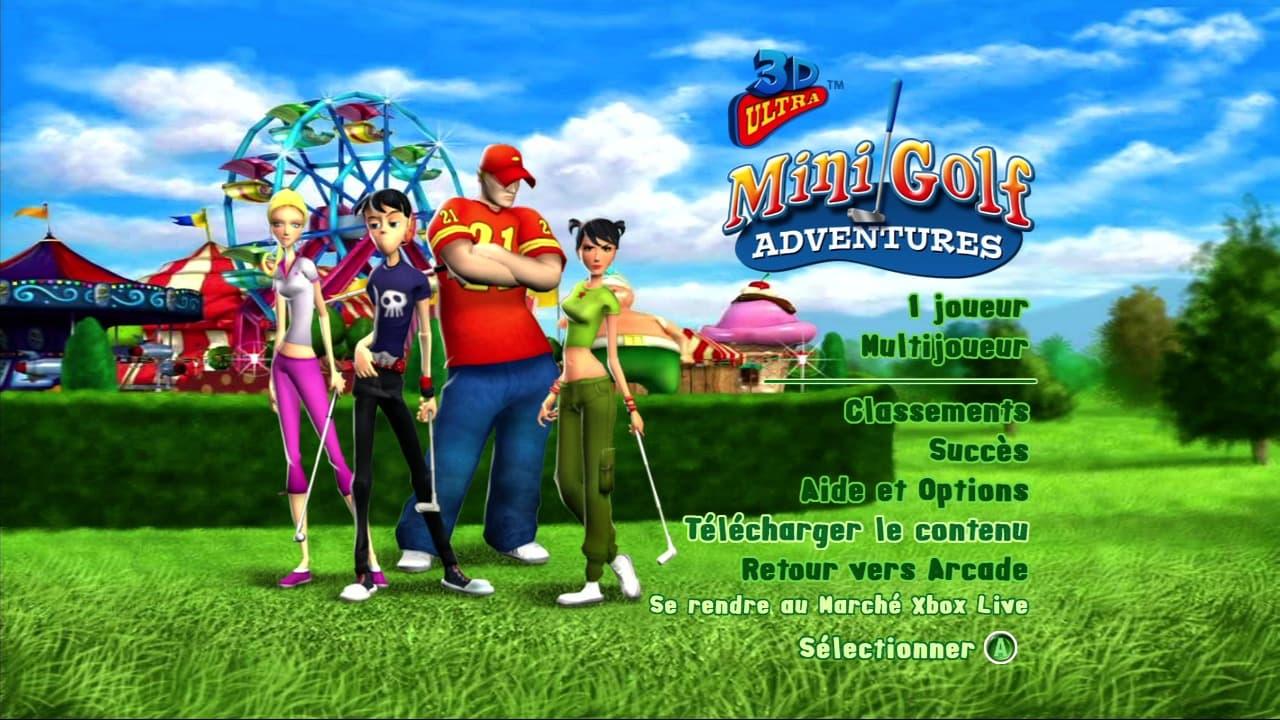 3D Ultra Mini Golf Adventures Xbox 360