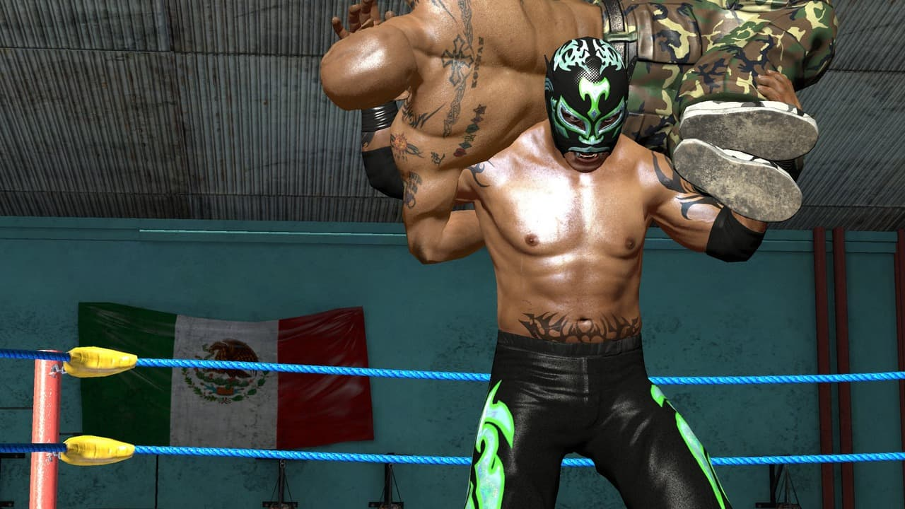 AAA Lucha Libre: Heroes of the Ring - Image n°8