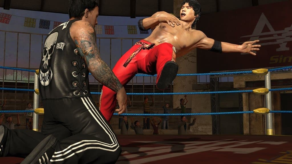 Xbox 360 AAA Lucha Libre: Heroes of the Ring