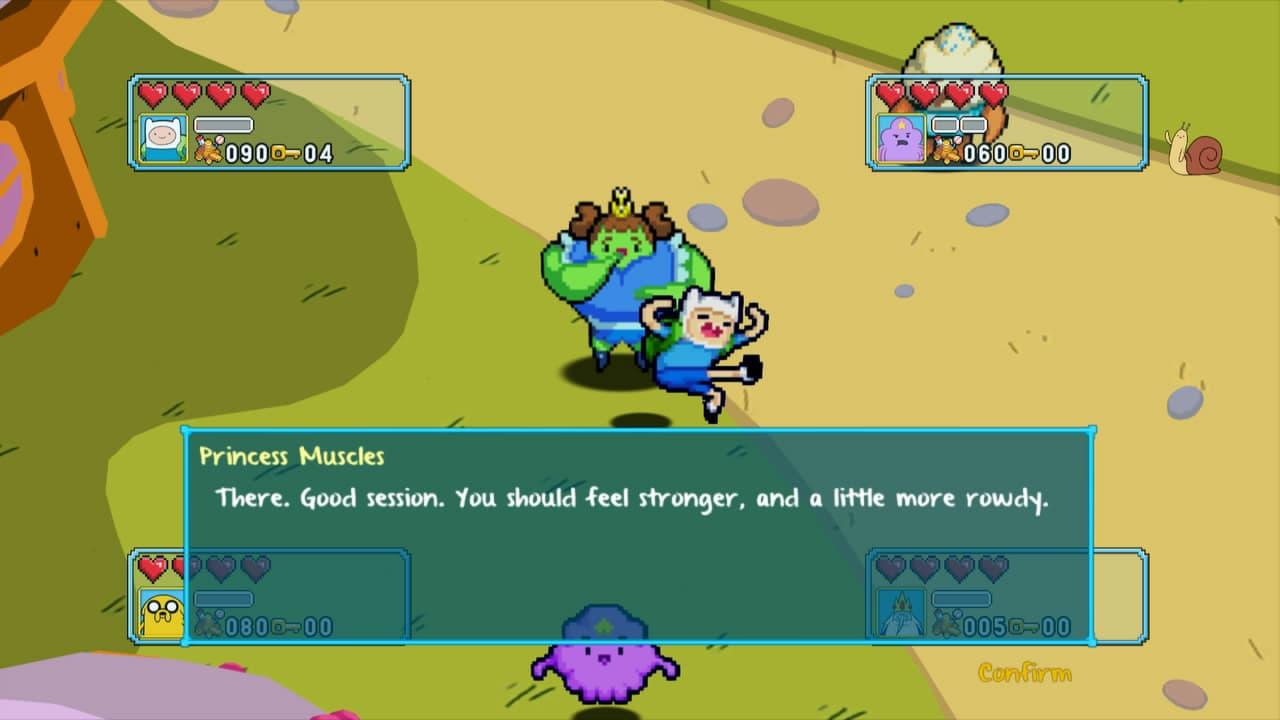 Adventure Time: Explore le Donjon et Pose pas de Question!