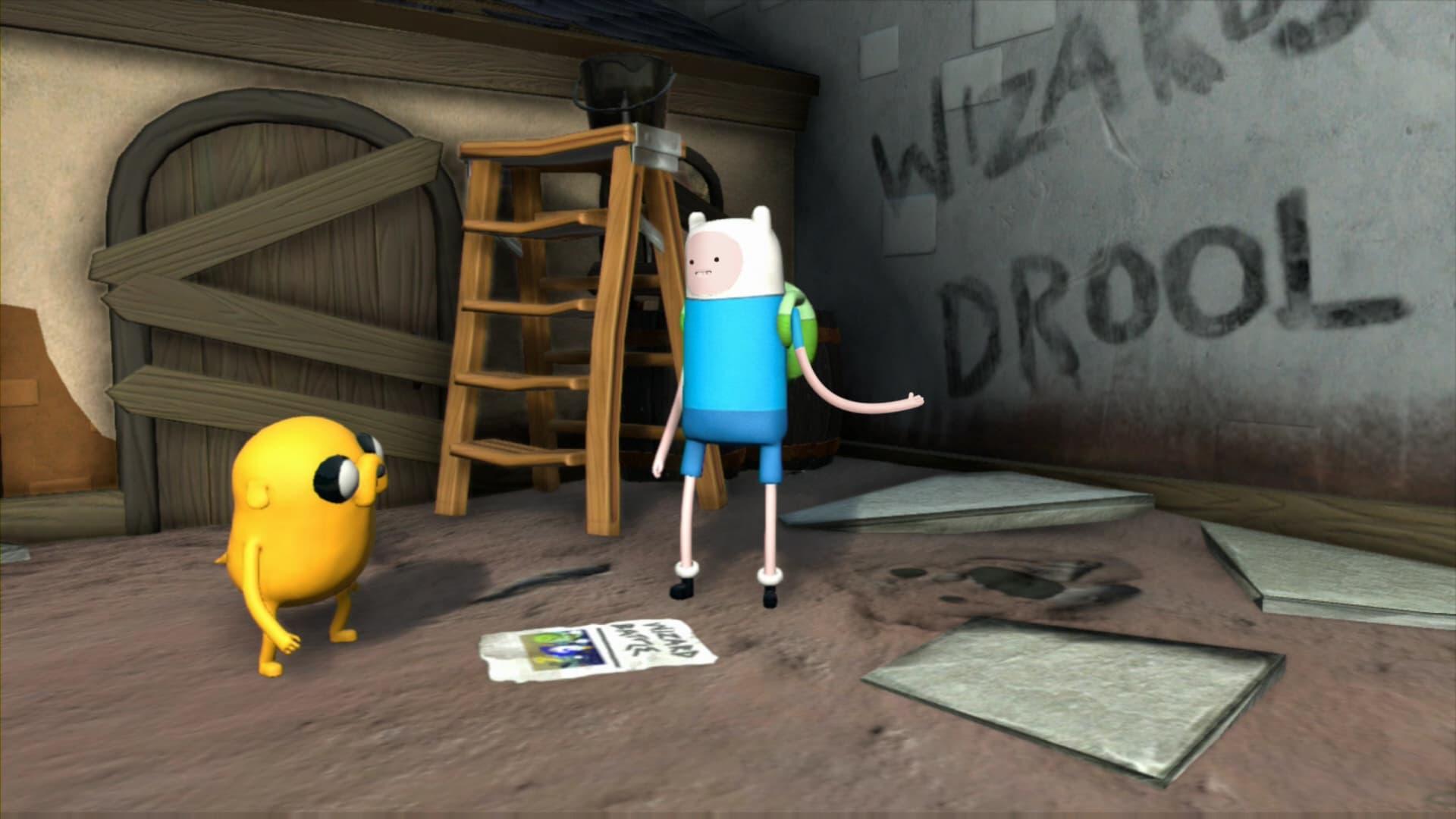 Adventure Time: Finn Et Jake Mènent L'enquête