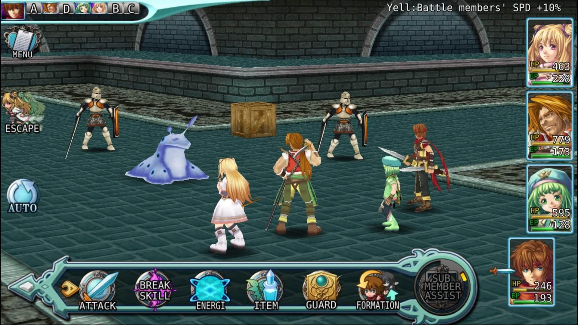 Xbox One Alphadia Genesis