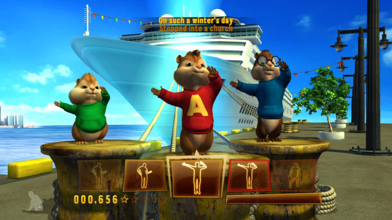 Xbox 360 Alvin and The Chipmunks: Chipwrecked
