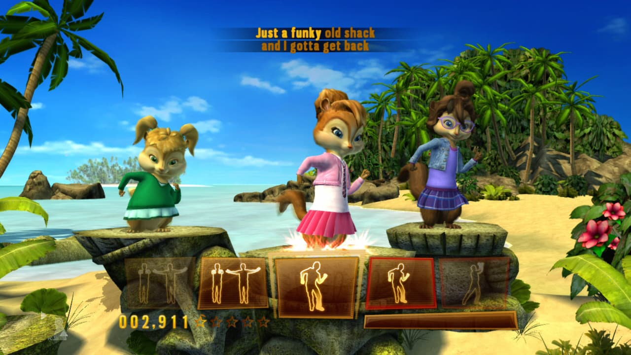 Alvin and The Chipmunks: Chipwrecked Xbox