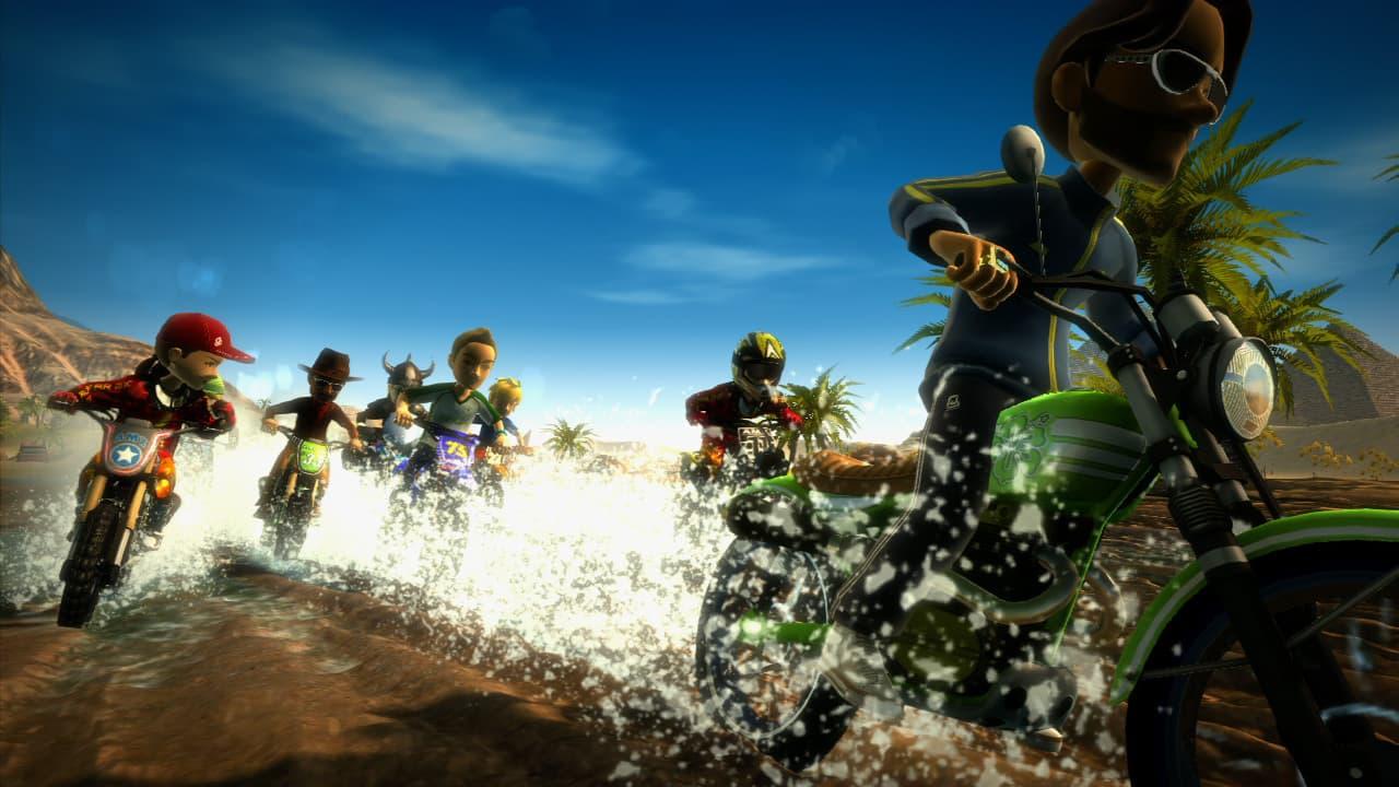 Xbox Live Avatar Motocross Madness