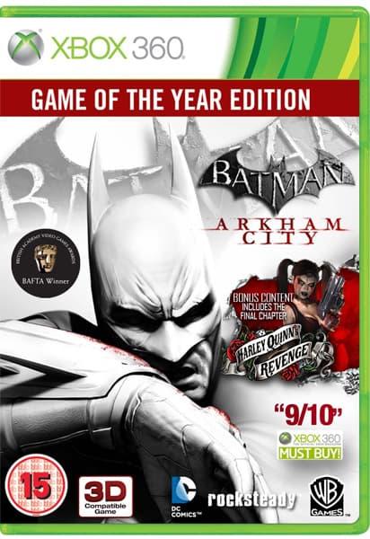 Batman Arkham City édition Game of the Year dispo!