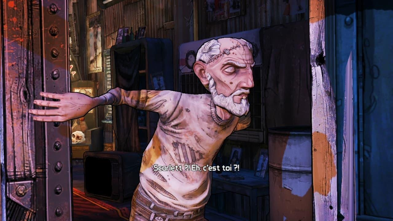 Xbox 360 Borderlands 2: Le Capitaine Scarlett et son Butin de Pirate