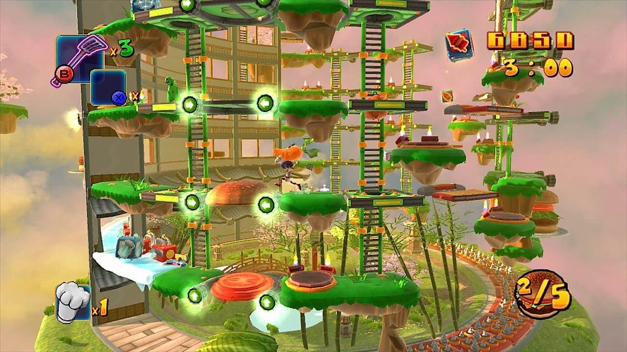 BurgerTime World Tour Xbox 360