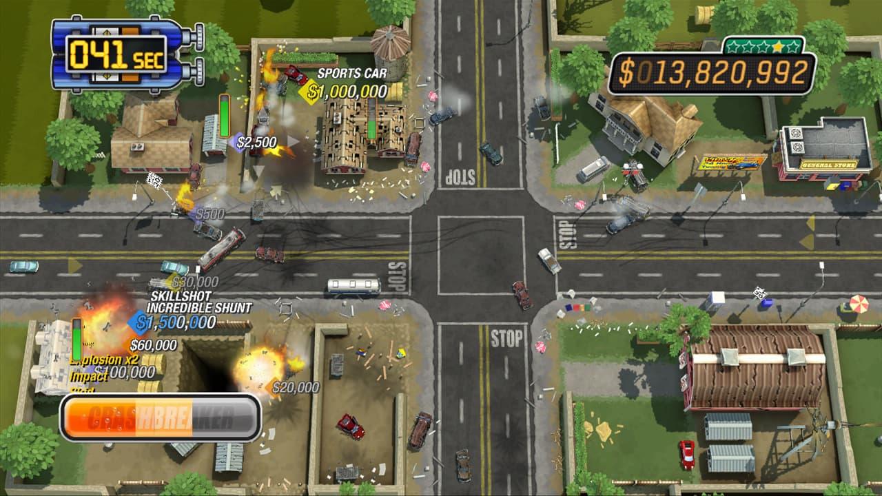 Burnout CRASH! Xbox 360 Kinect