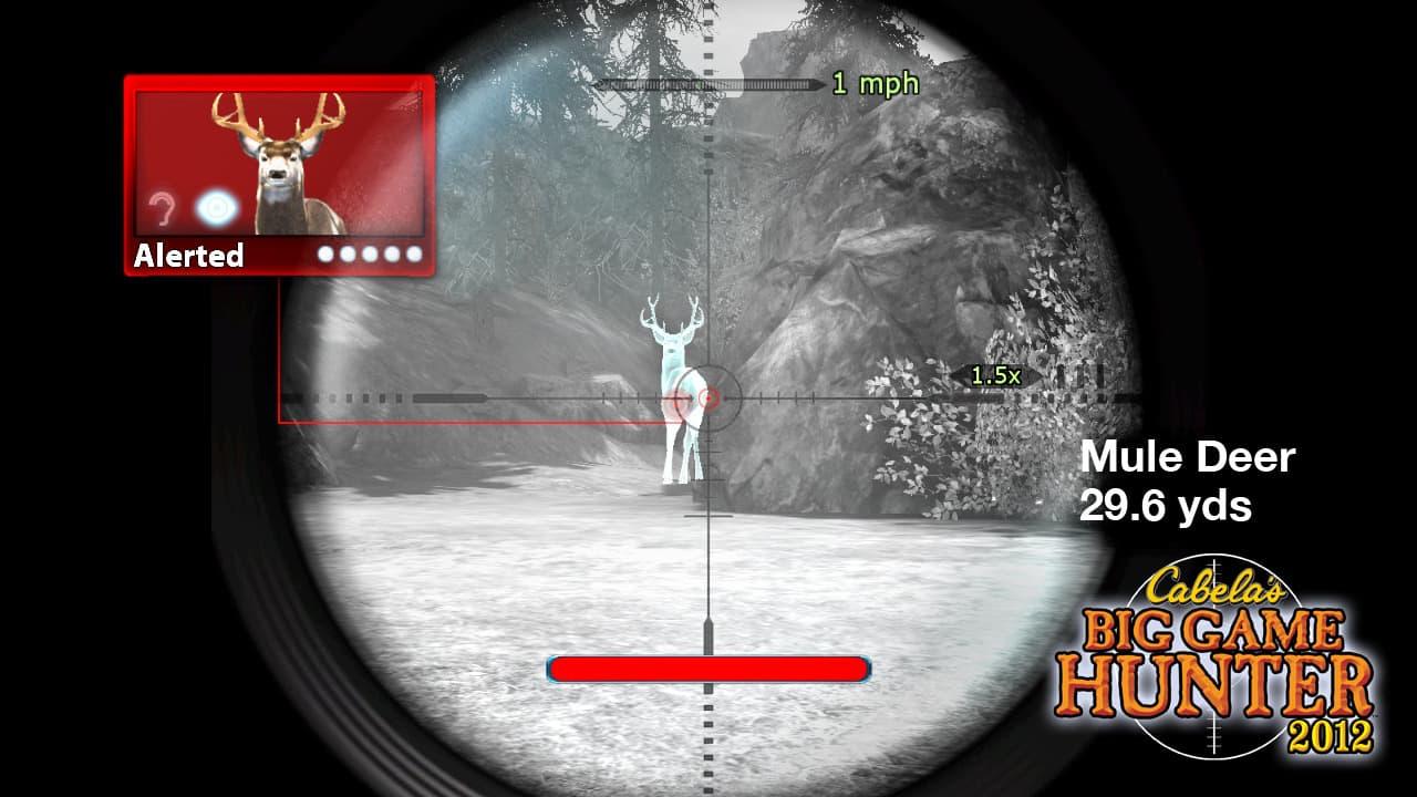 Cabela's Big Game Hunté 2012