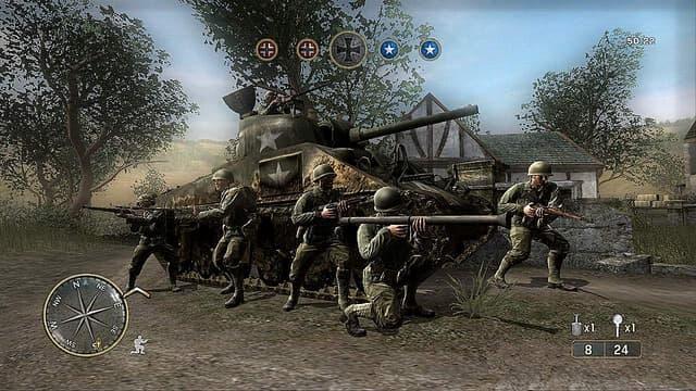 Call of Duty 3: En Marche vers Paris Xbox