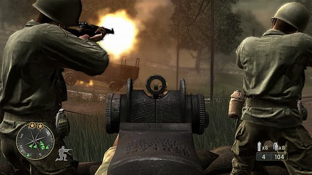 Call of Duty 3: En Marche vers Paris Xbox 360