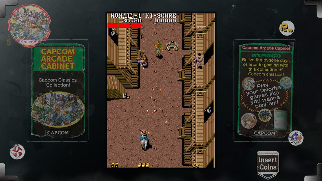 Capcon Arcade Cabinet: Retro Game Collection