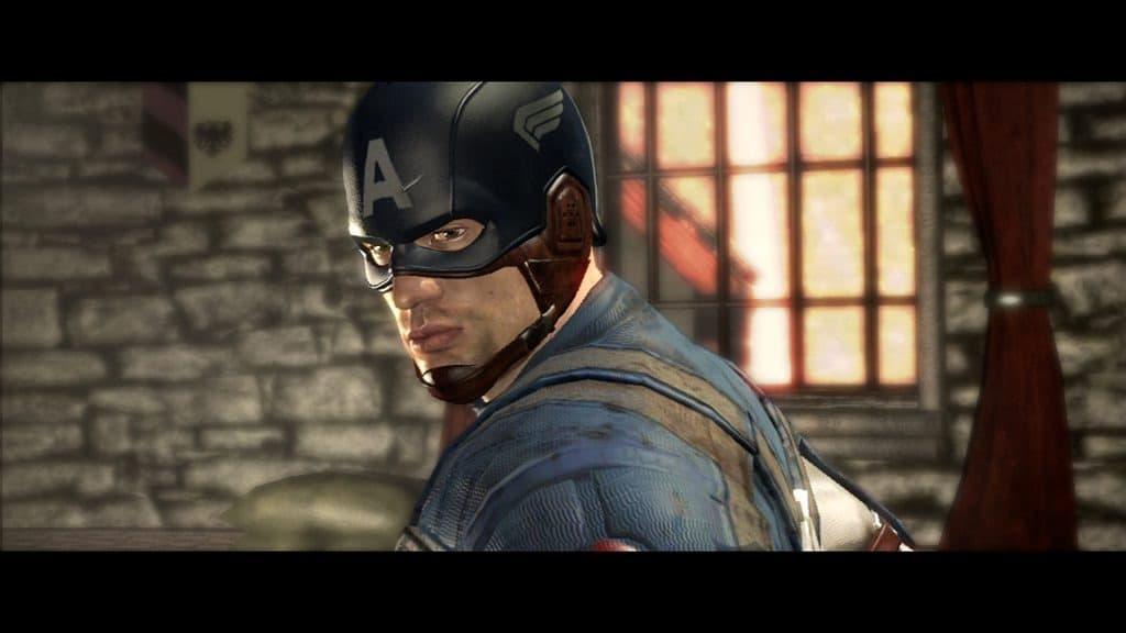 Xbox 360 Captain America: Super Soldat