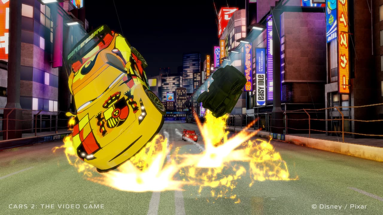 Xbox 360 Cars 2