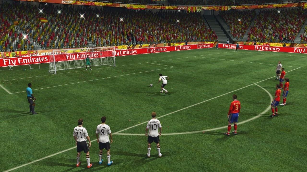 Demo coupe du monde de la fifa 2010 afrique du sud sur xbox 07 04 2010 - Coupe du monde fifa 2010 ...