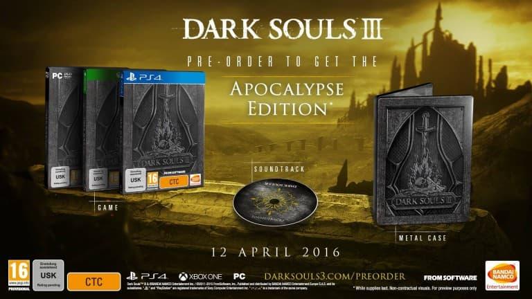 Game Awards 2015: Dark Souls 3 la date de sortie annoncée!