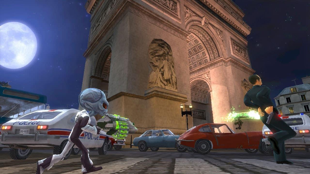 Xbox 360 Destroy All Humans! En Route Vers Paname!