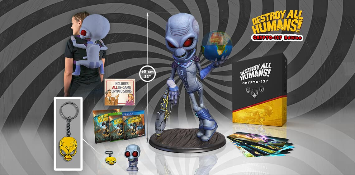 Xbox One Destroy All Humans! - Remake